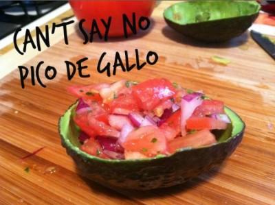 Can't say no pico de gallo