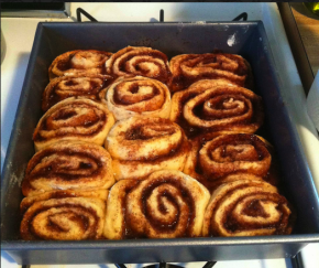 No-yeast cinnamon rolls