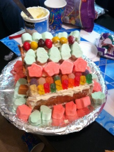 My sugar gingerbread house!