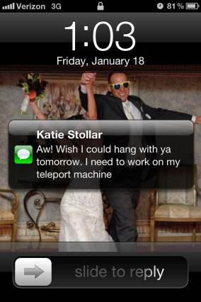 Katie text