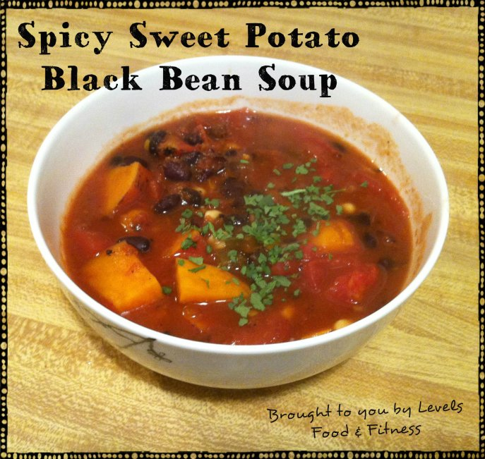 Spicy Sweet Potato Black Bean Soup