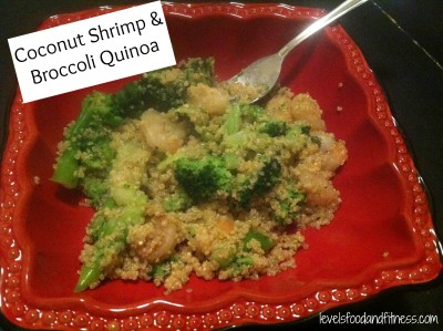Coconut Shrimp & Broccoli Quinoa