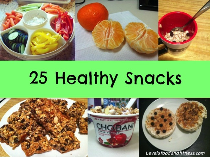 25 Healthy Snacks_Levels