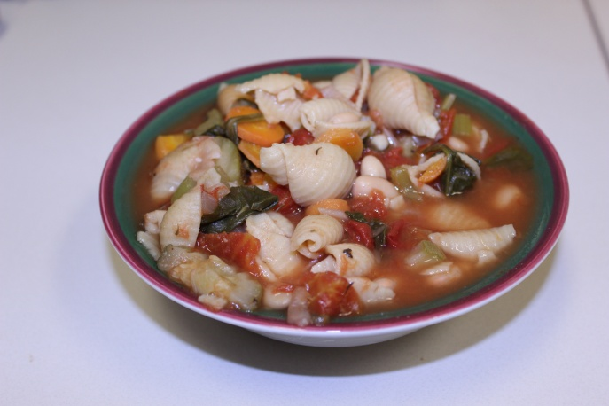 Healthy Minestrone Vegetable Soup