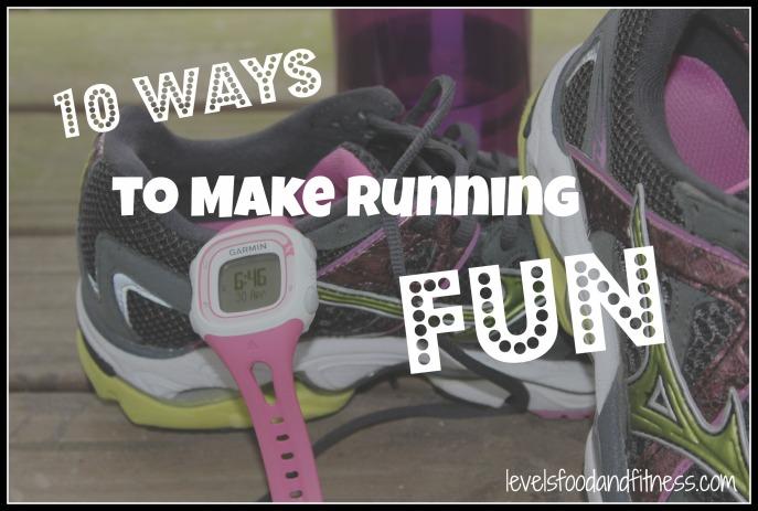 10 ways to make running fun