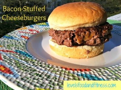 Bacon-Stuffed Cheeseburgers