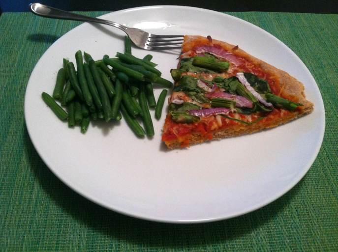 No rise wheat pizza