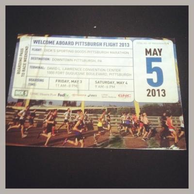 PGH Marathon Ticket