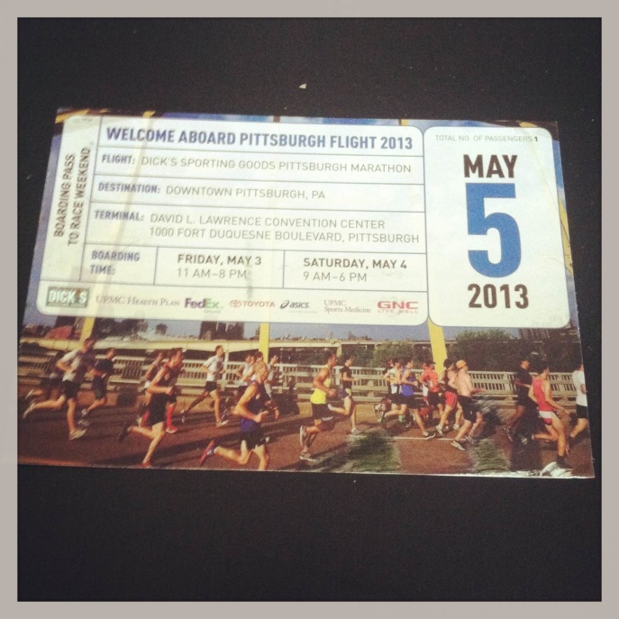 PGH Marathon Ticket