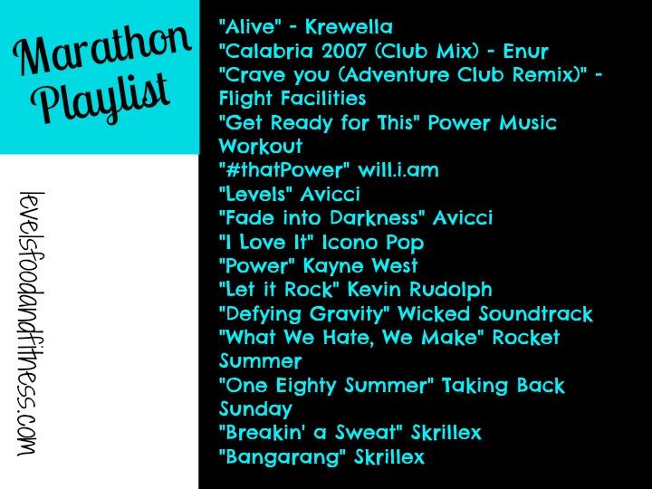 Marathon Playlist