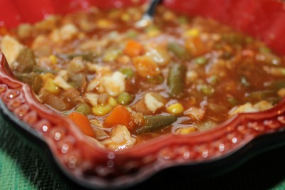 Vegetable Crab Soup