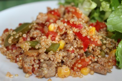 Turkey Veggie Quinoa