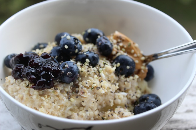 Blueberry pie oats 2