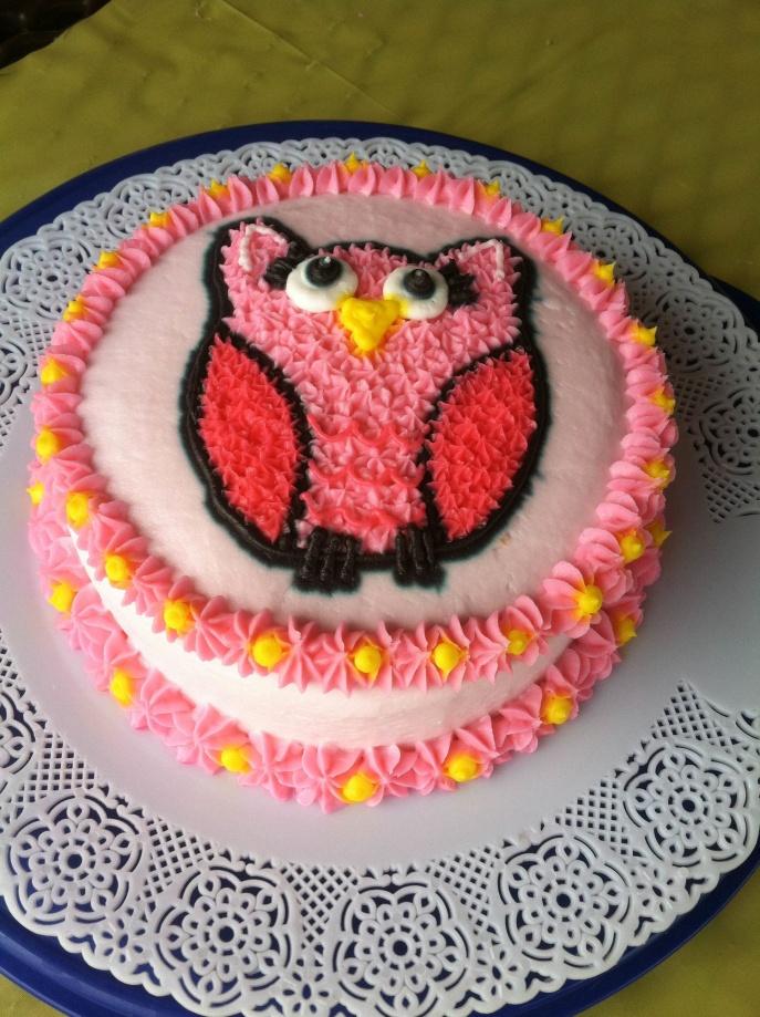 Riley single cake